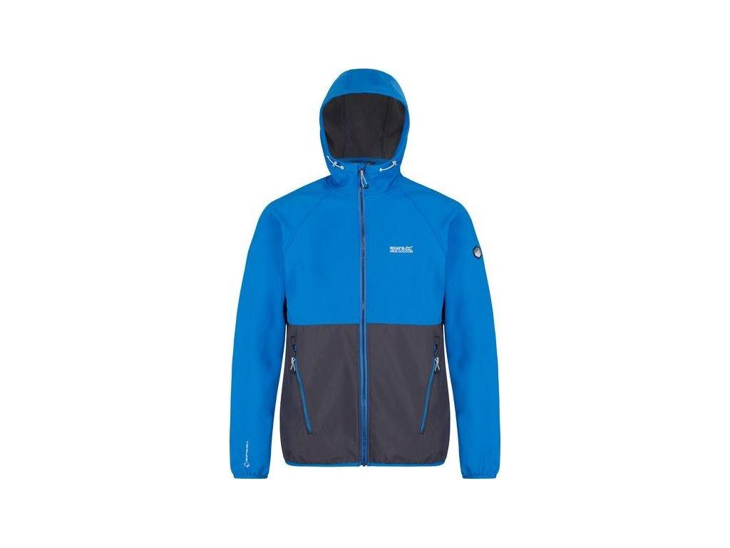 Męska kurtka softshellowa Regatta RML153 AREC II niebieska