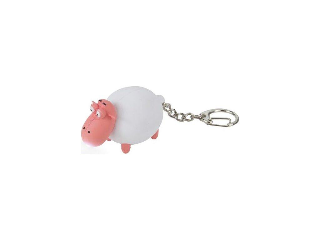 Przypinka do kluczy - owieczka