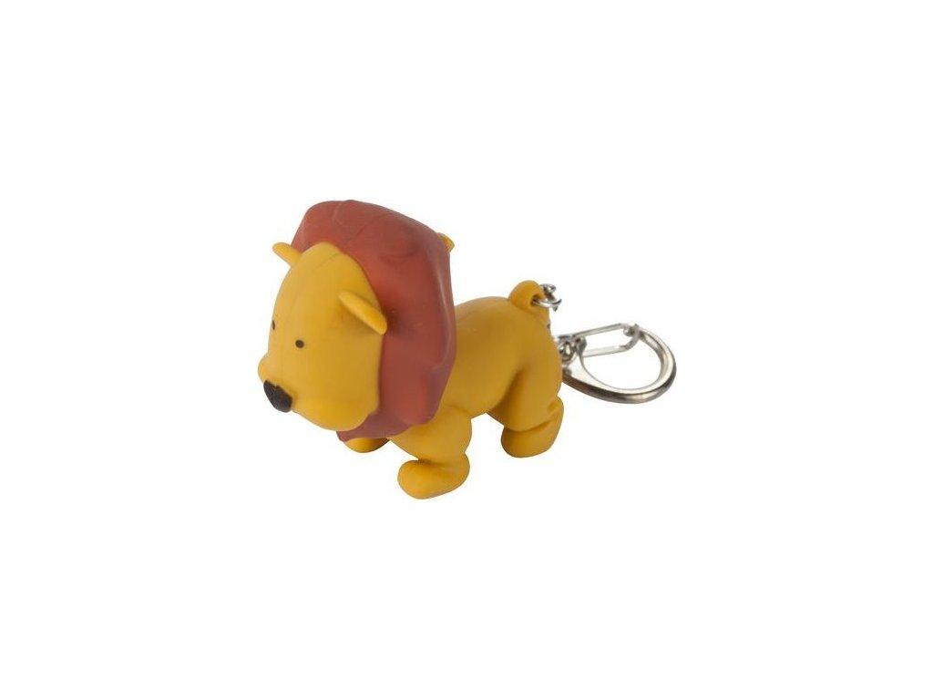 Przypinka do kluczy - lew