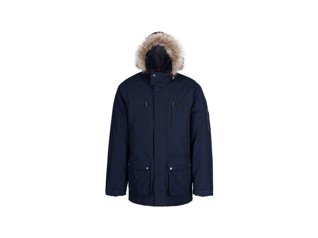 Męska kurtka zimowa Regatta RMP235 SALINGER ciemnoniebieska