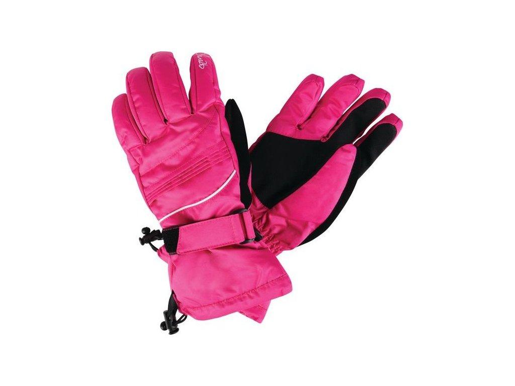 Damskie rękawice zimowe DWG315 SUMMON II Różowe