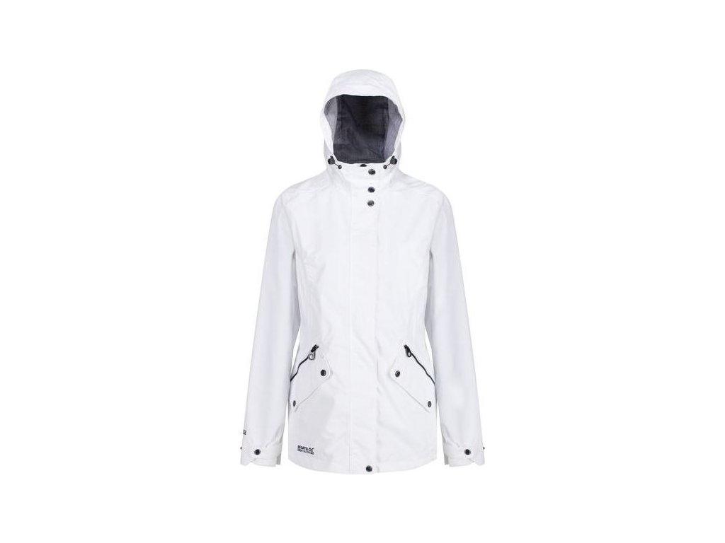 Biała kurtka Regatta RWW316 przeciwdeszczowa damska Basilia