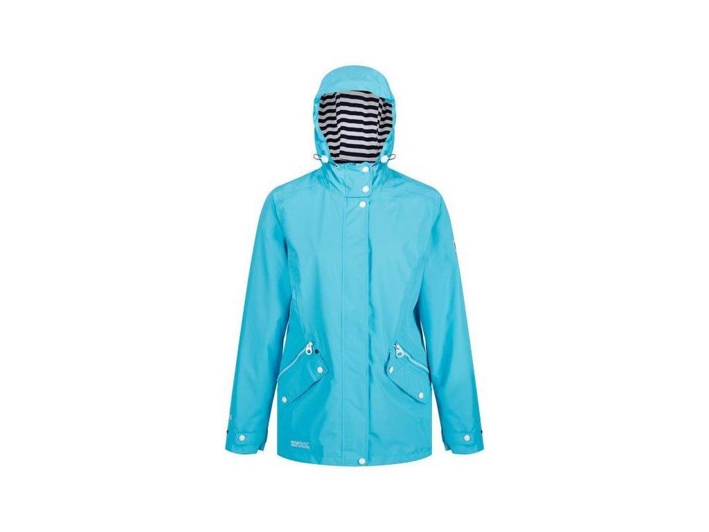 Błękitna kurtka Regatta RWW316 przeciwdeszczowa damska Basilia