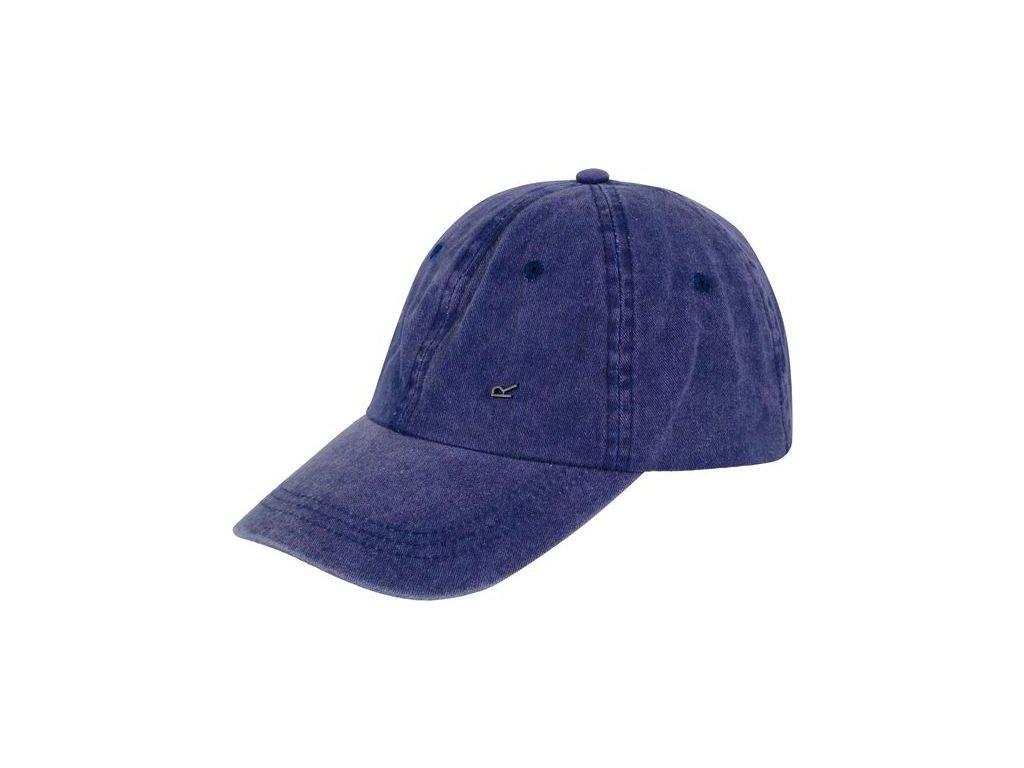 Granatowa czapka z daszkiem Regatta RMC079 Cassian