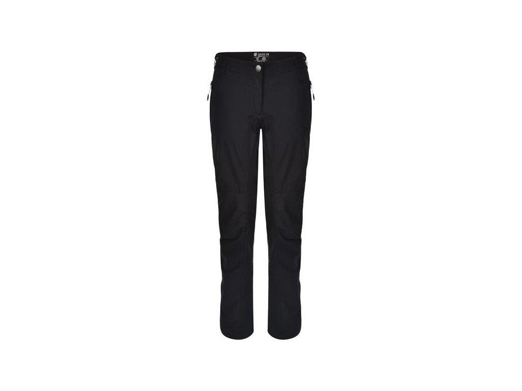 Czarne spodnie damskie Dare2B DWJ309R Melodic II