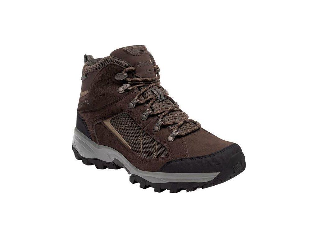 Brązowe buty turystyczne męskie Regatta RMF485 Clydebank