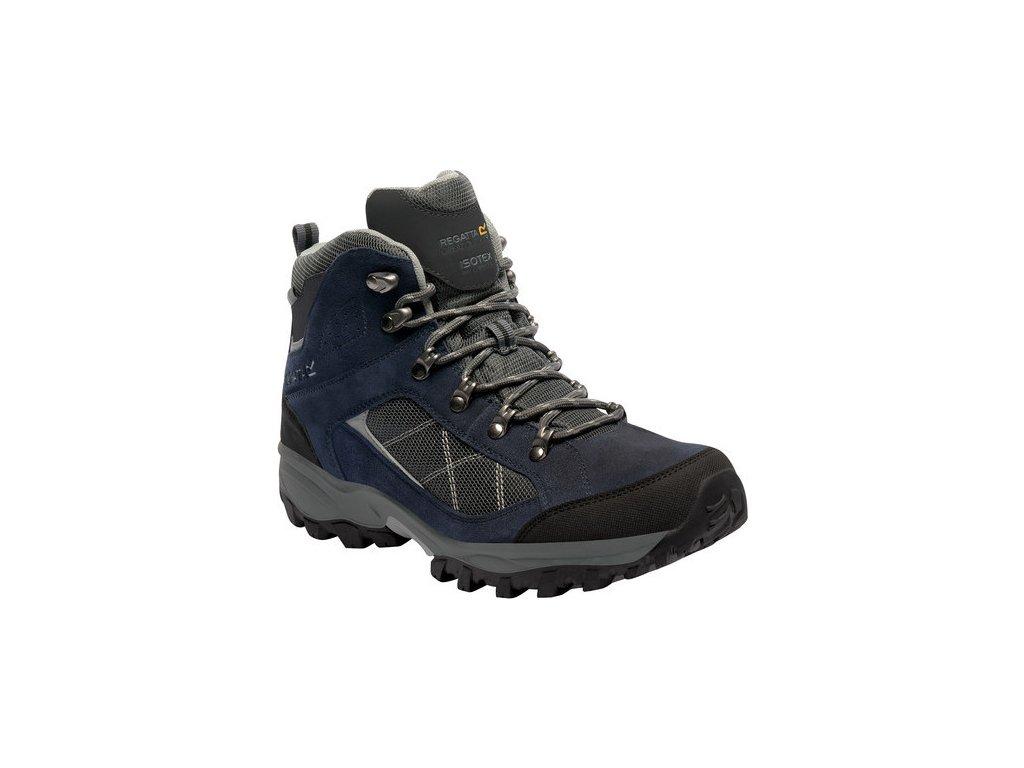Granatowe buty turystyczne męskie Regatta RMF485 Clydebank