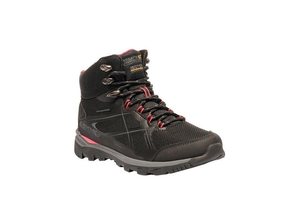 Czarny buty turystyczne damskie Regatta RWF490 Lady Kota Mid