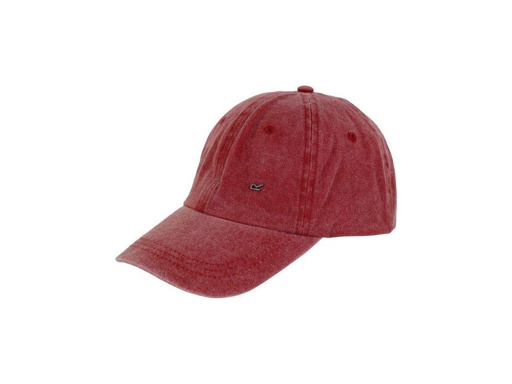 Czerwona czapka z daszkiem Regatta RMC079 Cassian