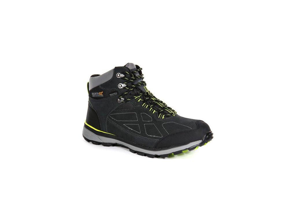 Zamszowe buty trekkingowe Regatta RMF575 Samaris Szare