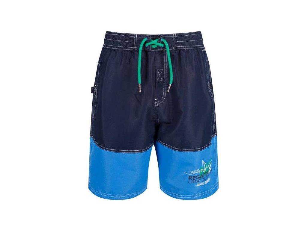 Niebieskie spodenki do pływania męskie RMM010 REGATTA Bratchmar III