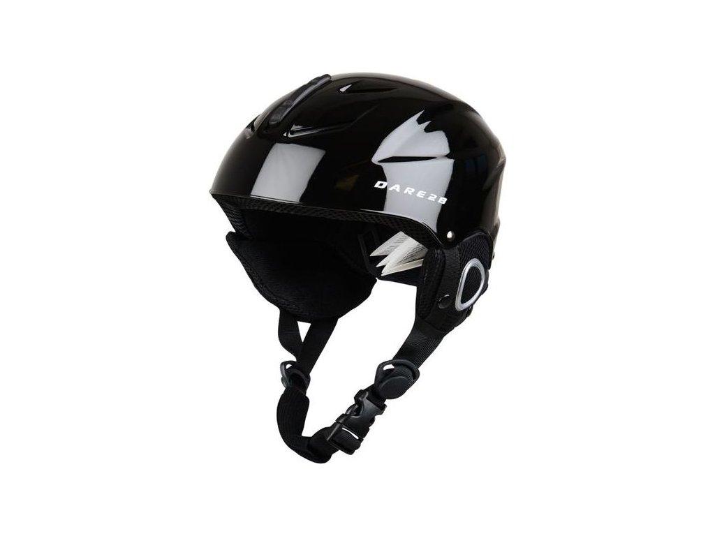 Kask narciarski dla dzieci DUE337 DARE2B Scudo Jnr Helmet Czarny kolor