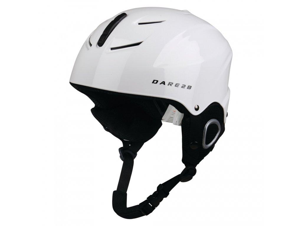 Kask narciarski dla dzieci DUE337 DARE2B Scudo Jnr Helmet Biały