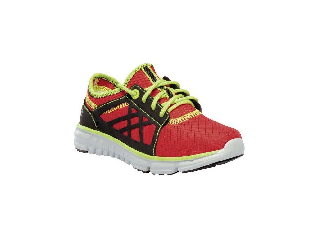 Buty sportowe dla dzieci Regatta RKF545 Marine Sport Jnr Czerwony kolor