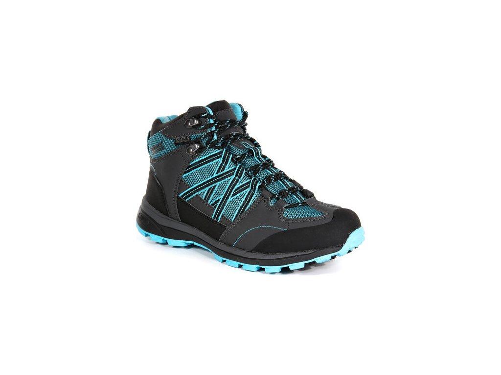 Czarne buty turystyczne damskie RWF539 REGATTA  Samaris Md II