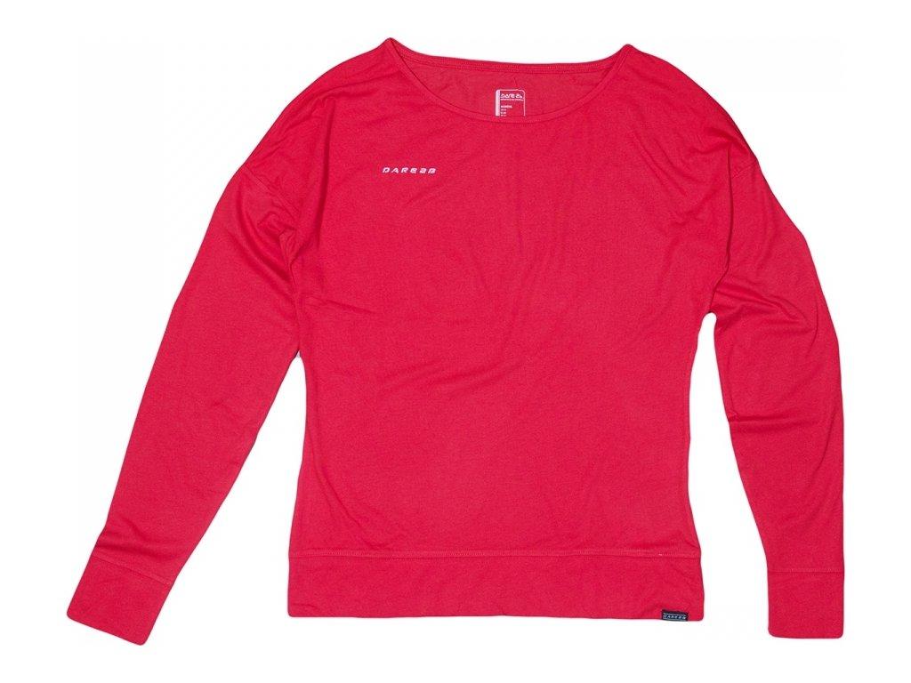 Koszulka damska SWDWT384 REGATTA Unwind Czerwona