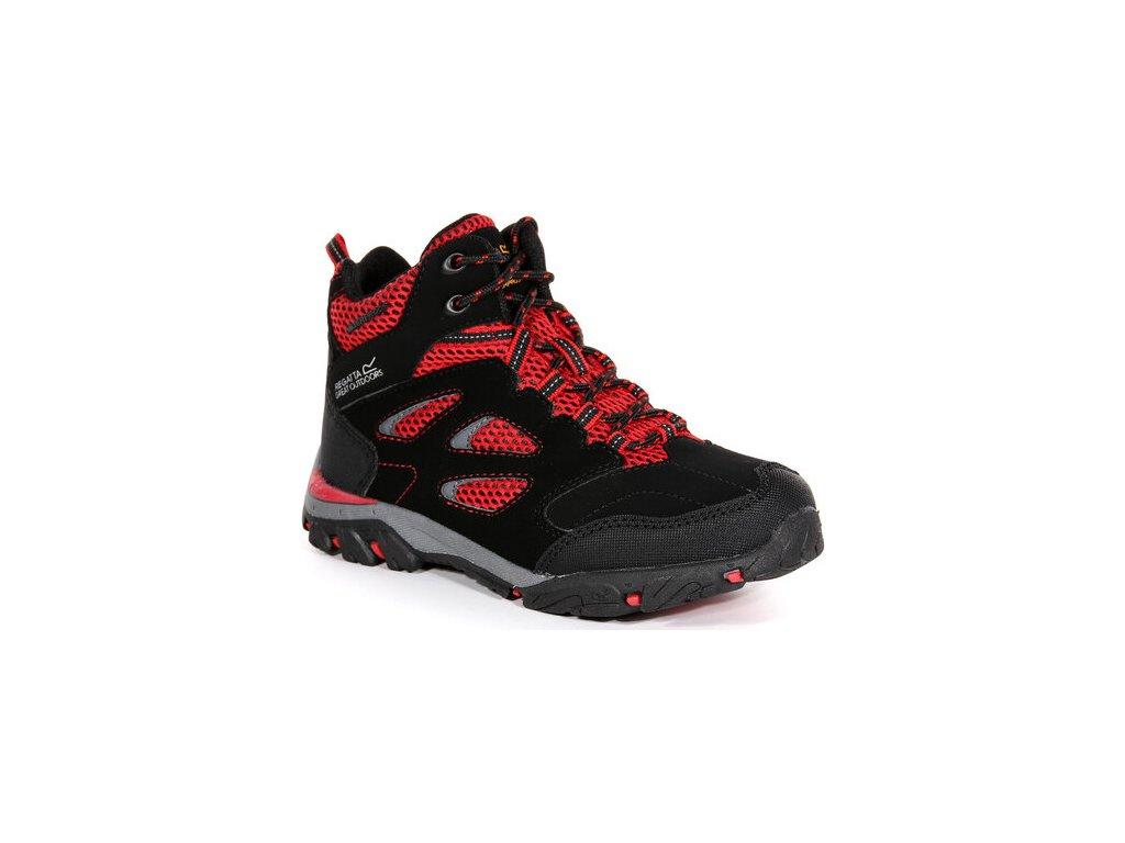 Dziecięce buty trekkingowe RKF573 Holcombe IEP Jnr Czarne