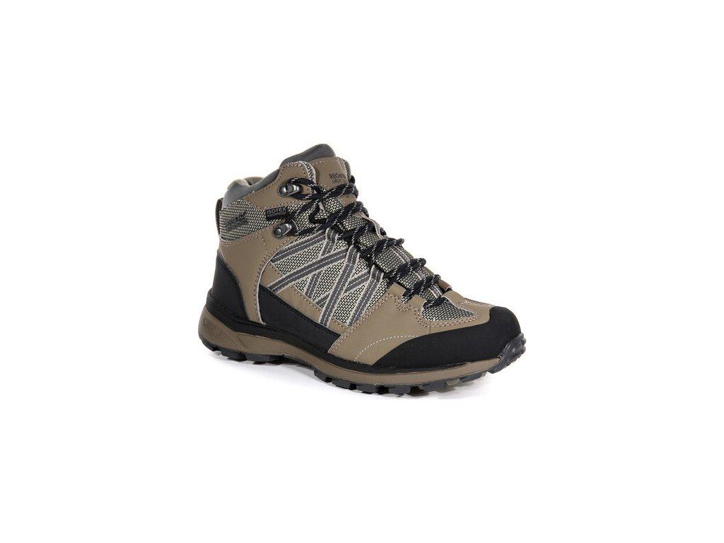 Brązowe buty turystyczne damskie REGATTA RWF539  Ldy Samaris Md II