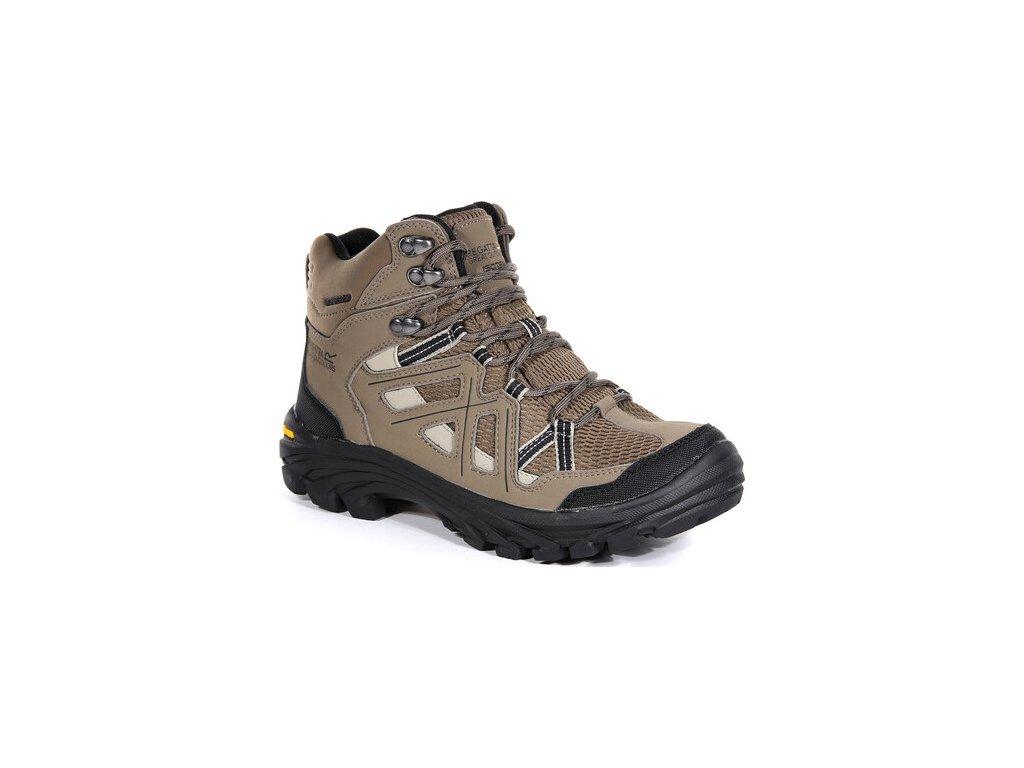 Brązowe buty turystyczne damskie RWF551 REGATTA Lady Burell II