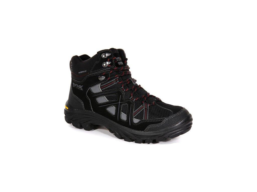 Męskie buty trekkingowe RMF551 REGATTA Burrell II Czarne