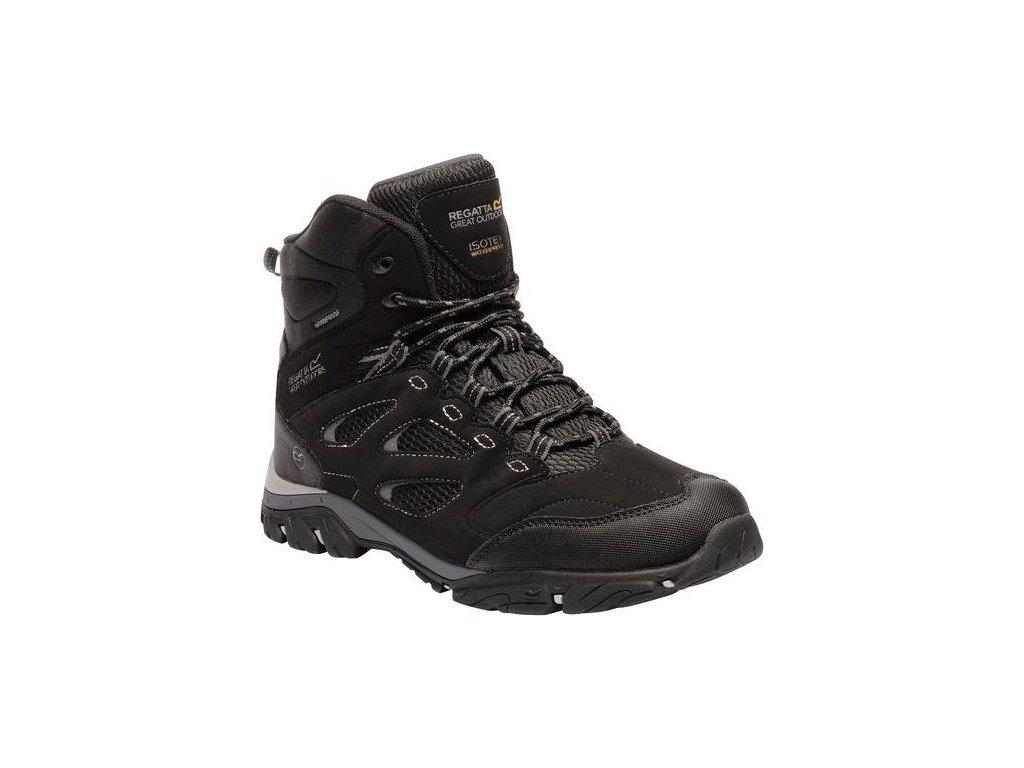 Męskie buty trekkingowe do kostki   RMF574 REGATTA Holcombe High IEP Czarne