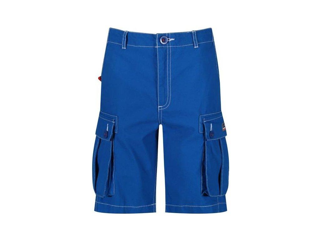 Niebieskie szorty dziecięce RKJ087 REGATTA Shorefire Short