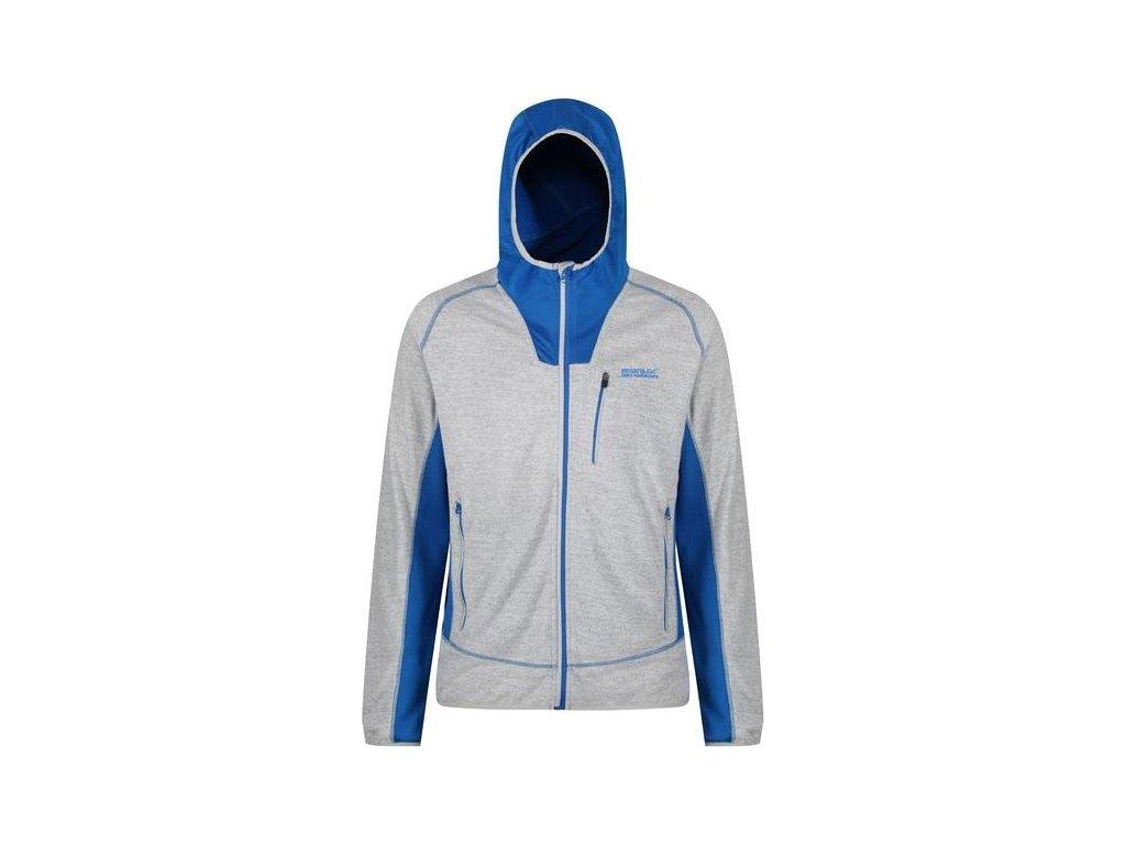 Męska bluza RMA314 REGATTA Cartersville IV Szaro-niebieski kolor