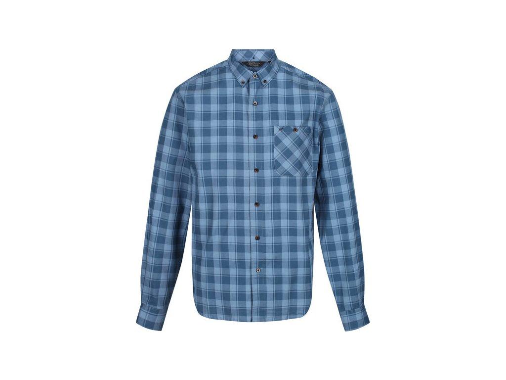 Koszula męska Regatta RMS132 LAZARE niebieska