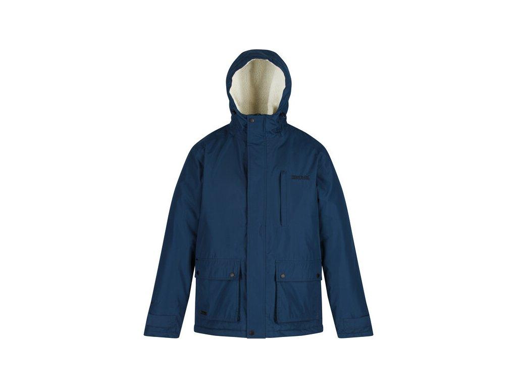 Męska kurtka zimowa Regatta RMP265 Sterlings niebieska