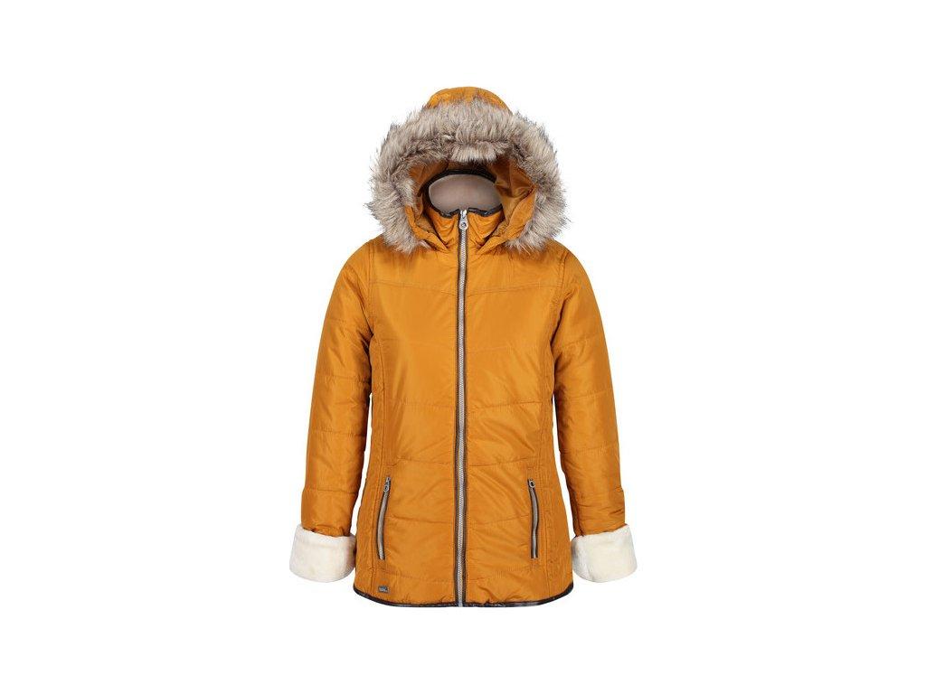Damska pikowana kurtka RWN142 REGATTA Whitley Żółta