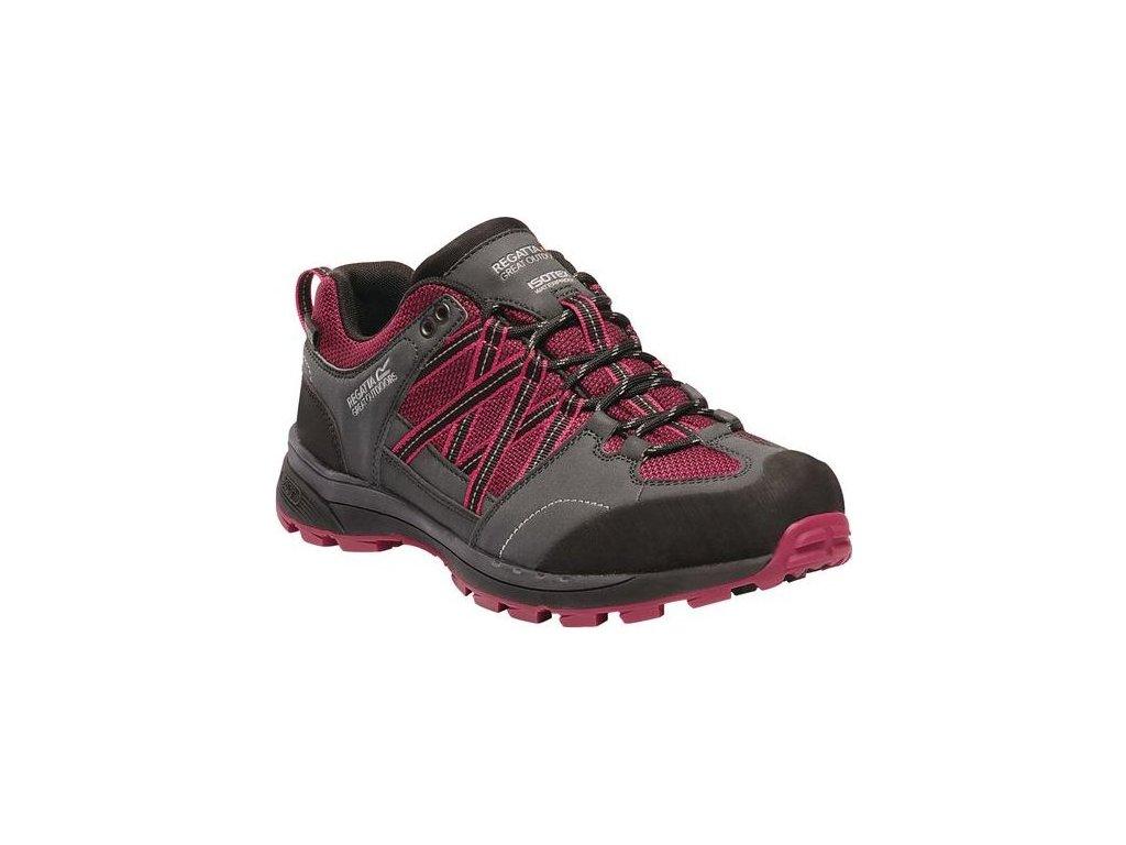 Damskie buty trekkingowe RWF540 REGATTA  Samaris Lw II Różowy