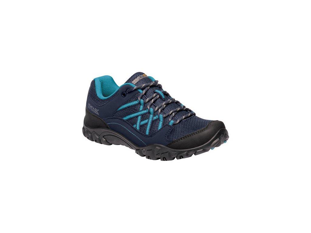 Damskie buty trekkingowe REGATTA RWF617 Lady Edgepoint III Granatowe