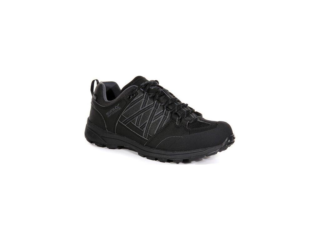 Męskie buty trekkingowe RMF540 REGATTA Samaris Low II Czarny