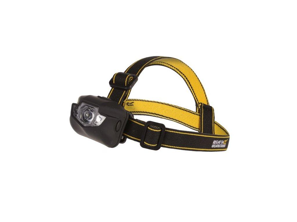 Cree 5 LED silne trwałe Headtorch Czarna RCE191 REGATTAČelovka RCE191 REGATTA Cree 5LED Headtch Černá