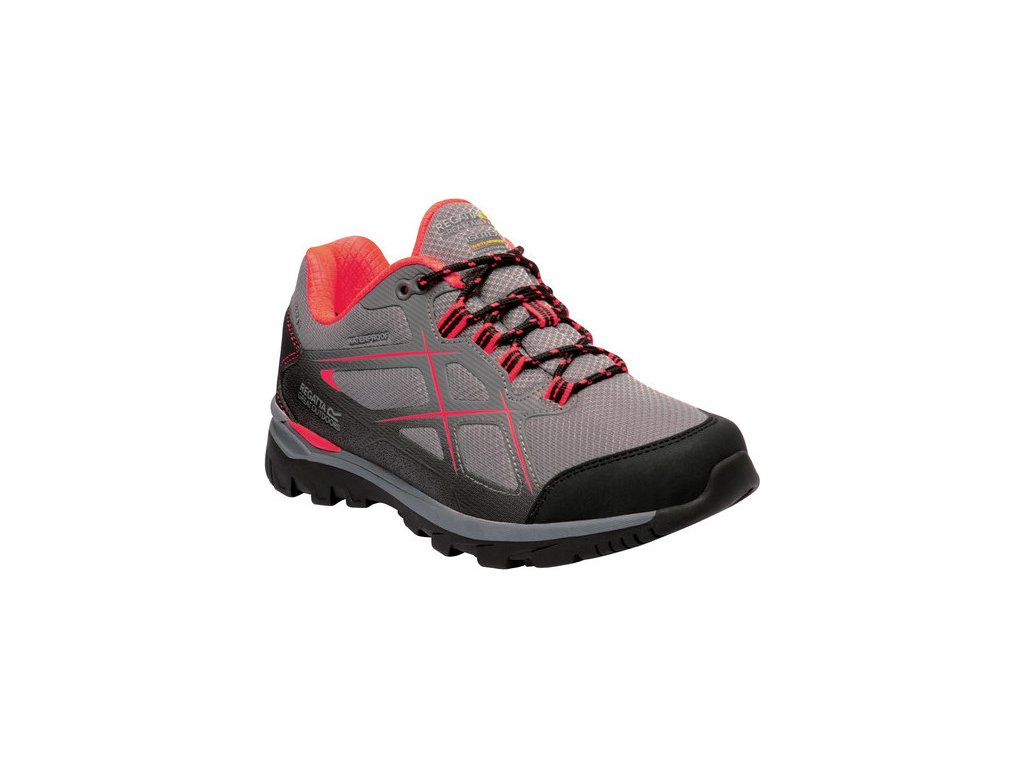 Damskie niskie buty turystyczne RWF623 REGATTA Kota Low II Jasnoszary