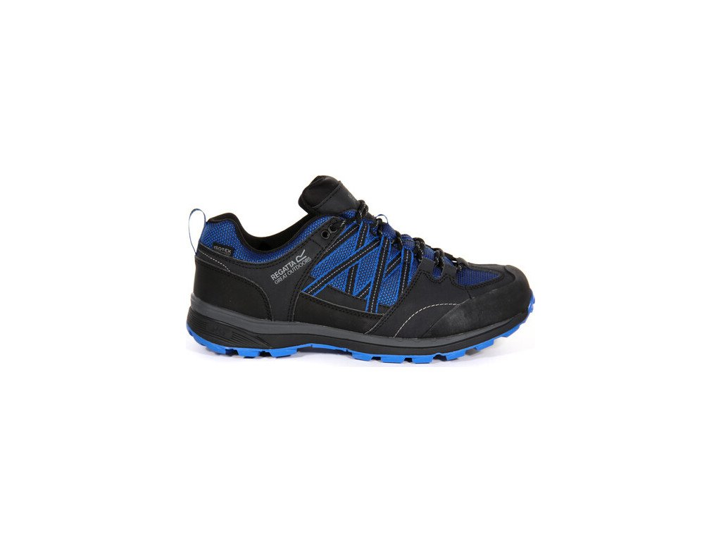 Męskie buty trekkingowe RMF540 REGATTA Samaris Low II Niebieski