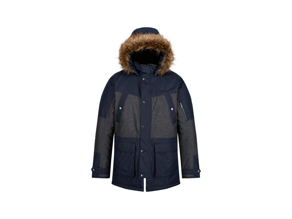 Męska kurtka zimowa RMP260 REGATTA Aalto Ciemnoniebieski