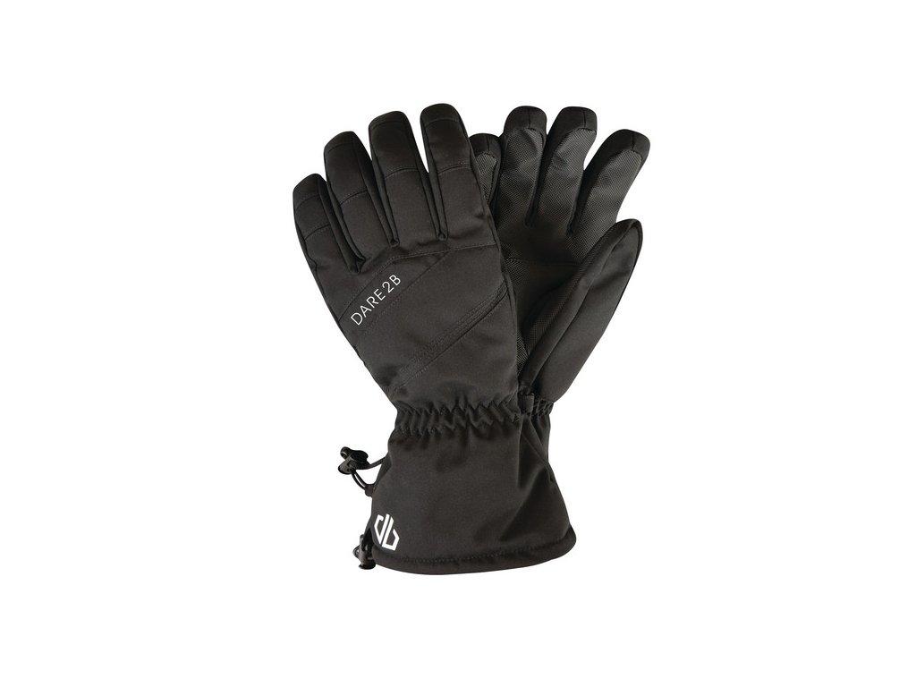 Pánské lyžařské rukavice DMG324 DARE2B Hold On Černé