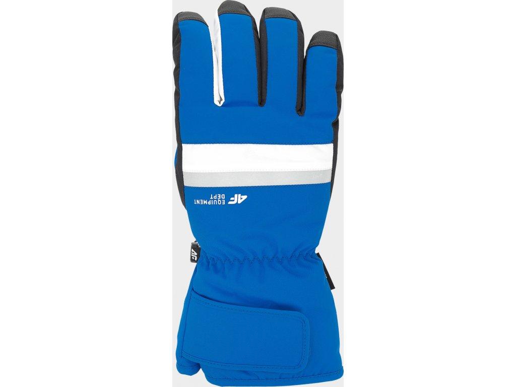 Rękawice narciarskie męskie 4F REM350 Niebieskie