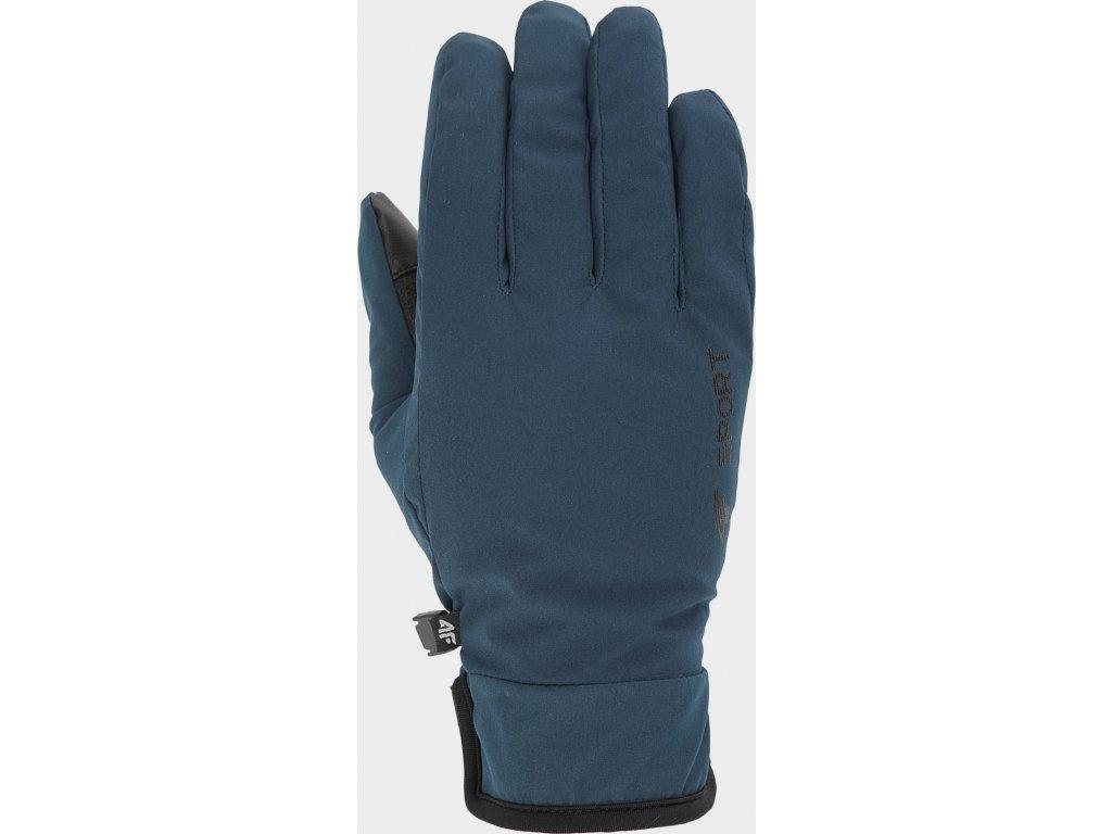 Rękawice unisex 4F REU100 Niebieskie