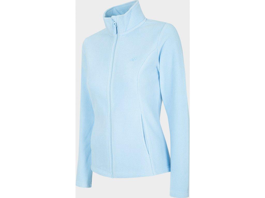 Damska bluza polarowa 4F PLD300 Jasnoniebieski