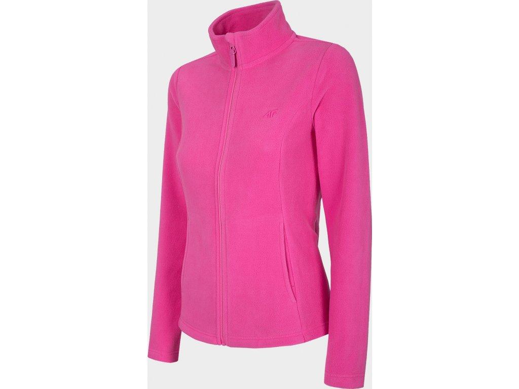 Damska bluza polarowa 4F PLD300 Różowa