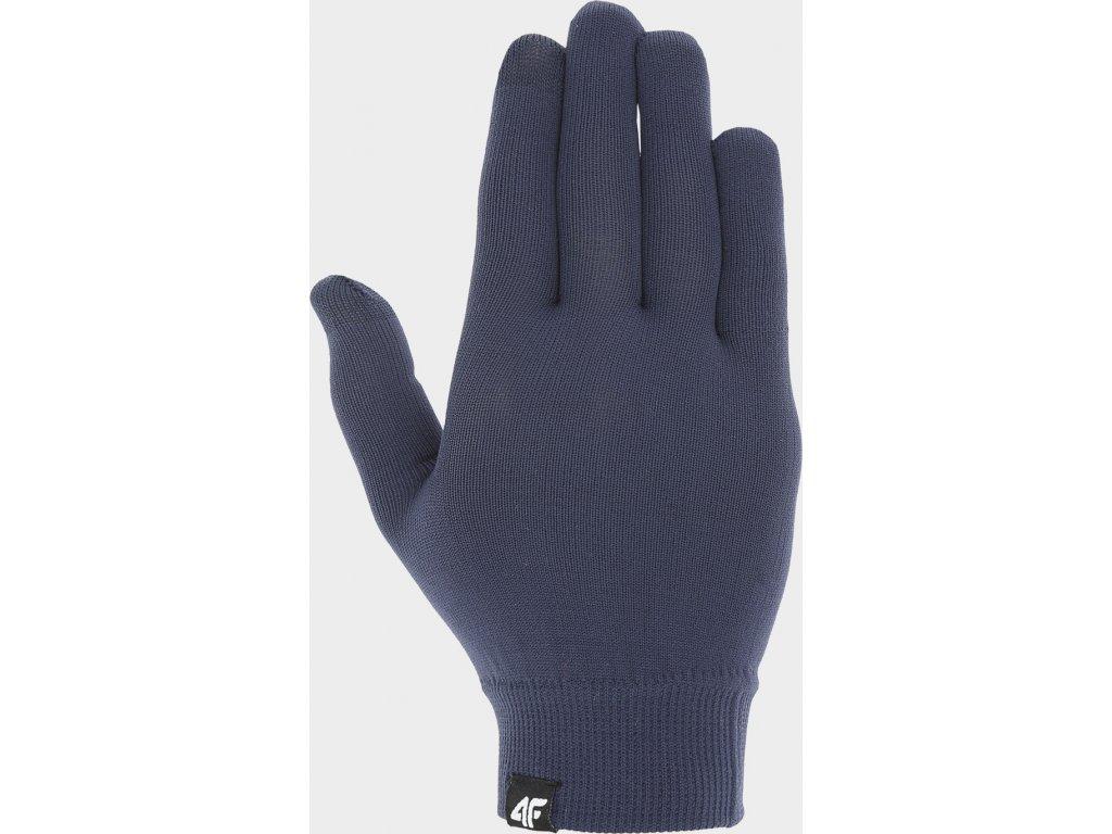 Rękawiczki unisex 4F REU300 Niebieskie