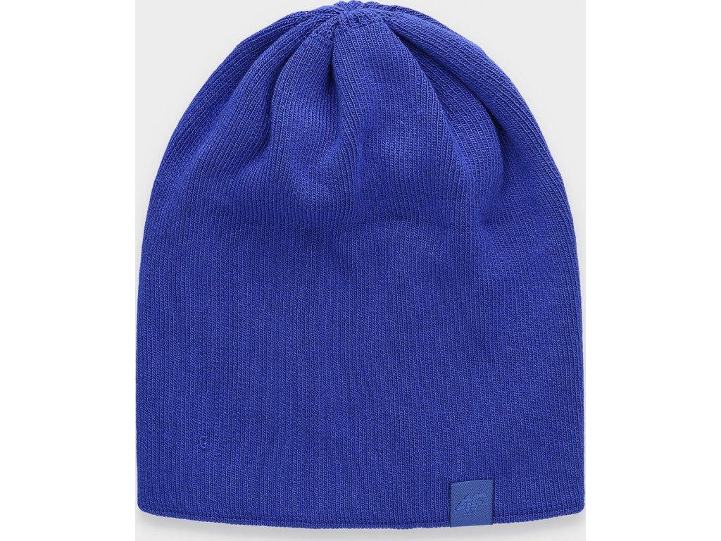 Czapka damska 4F CAD161 Niebieski kolor