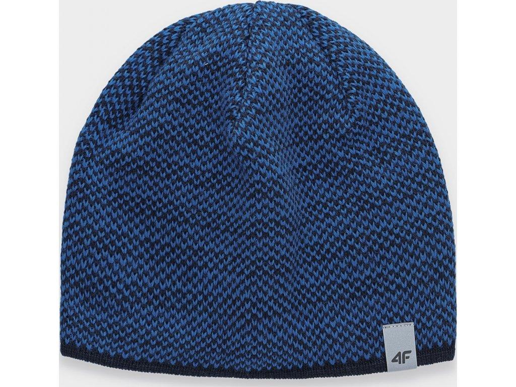 Czapka męska zimowa 4F CAM156 Niebieska