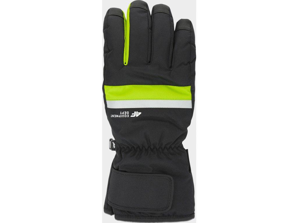 Rękawice narciarskie męskie 4F REM350 Zielone