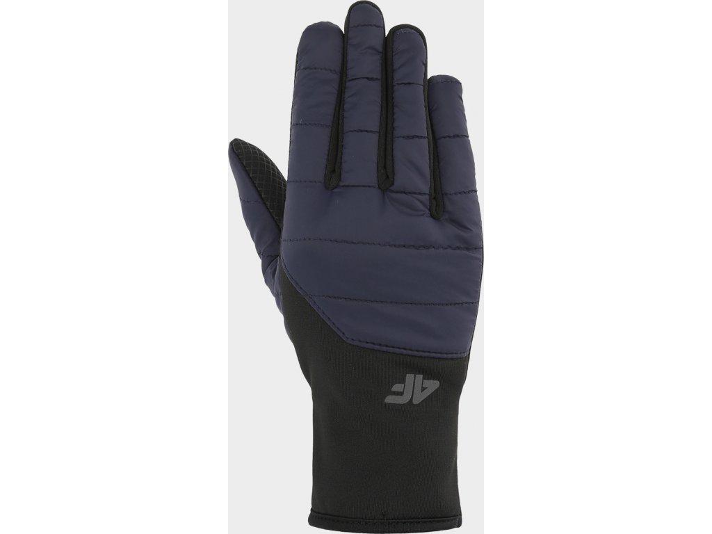 Rękawice unisex 4F REU201 Ciemnoniebieskie
