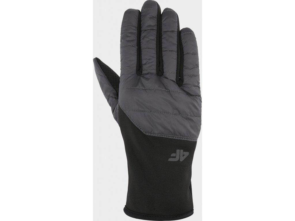 Rękawice unisex 4F REU201 Szary