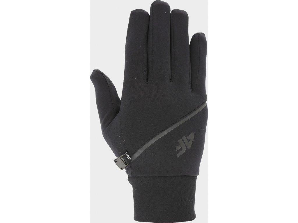 Rękawiczki do biegania 4F  REU211 Czarne