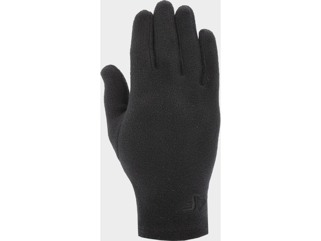 Rękawice polarowe unisex 4F REU303 Czarne